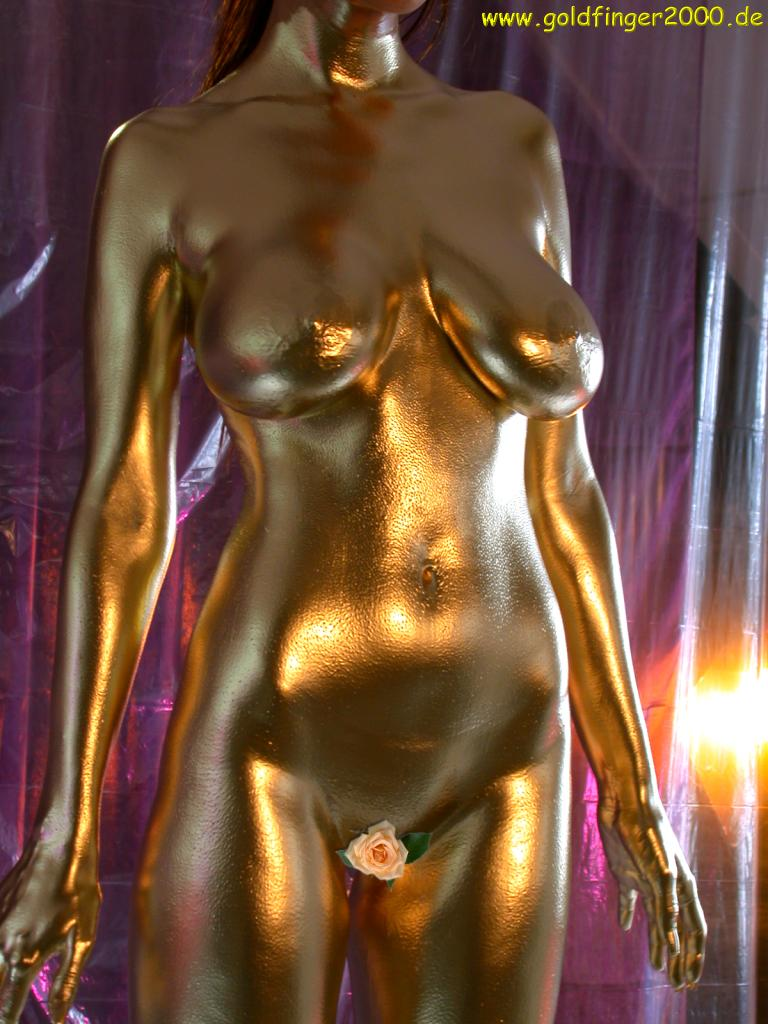 Gold  Body Paint - Queenylove Gold